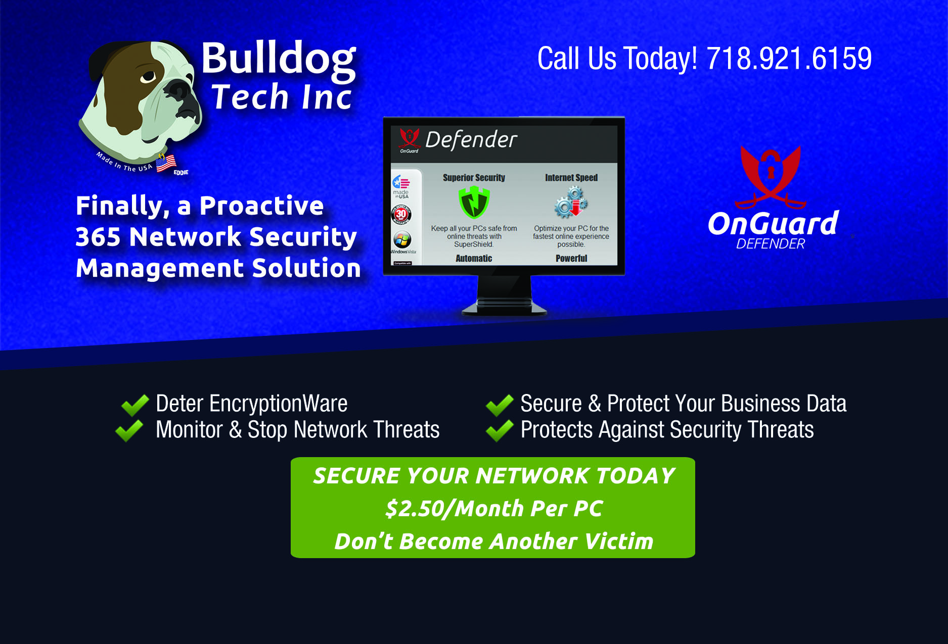 bulldog tech offers onguard defender