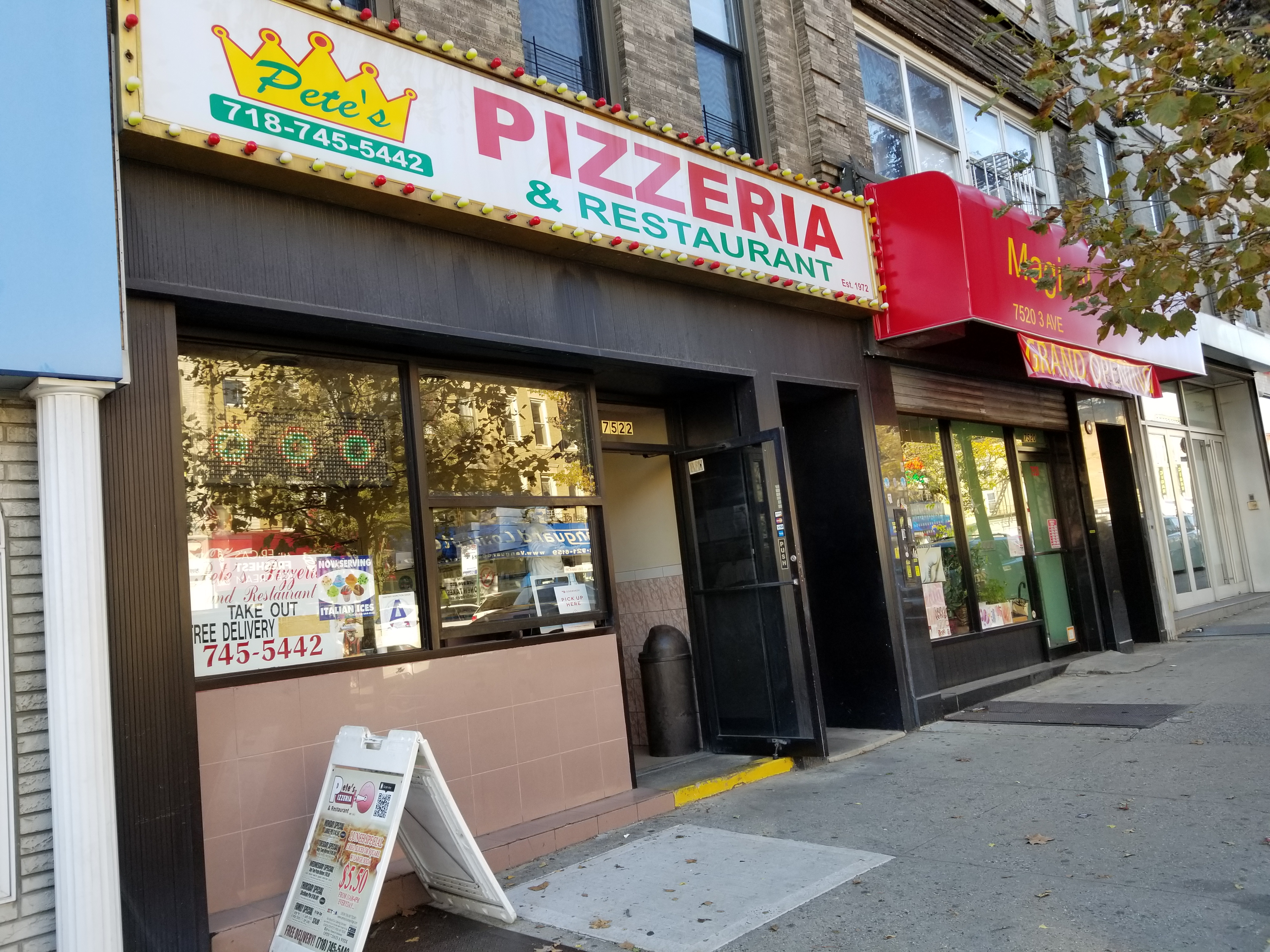 petes pizza 7522 3rd ave